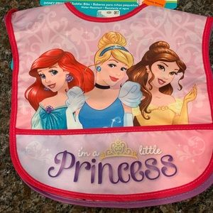 Disney Princess toddler bibs